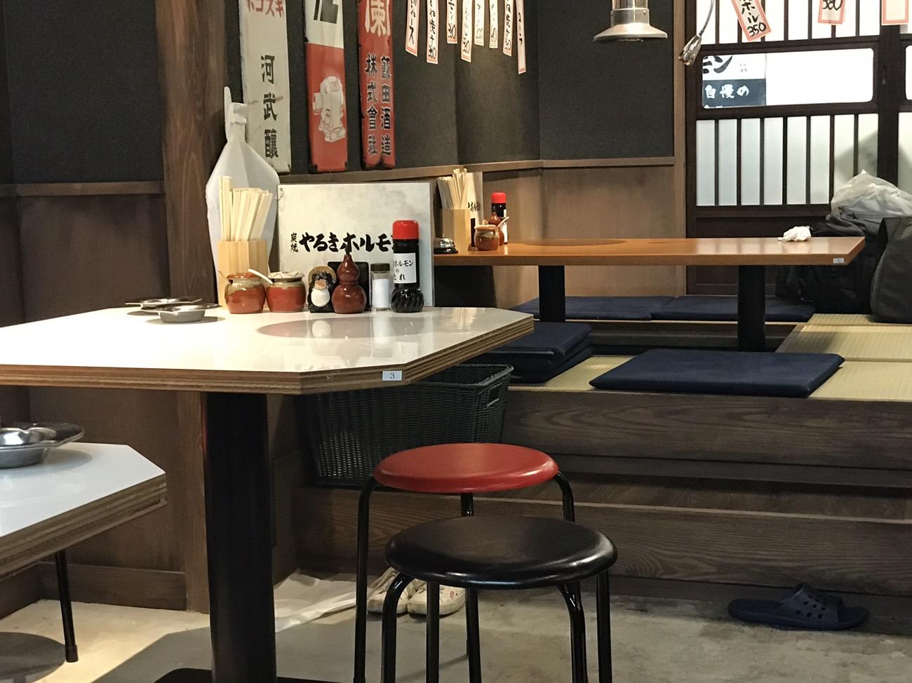 新宿肉横丁 王様のブランチでも紹介された新宿名店横丁のやるきホルモン