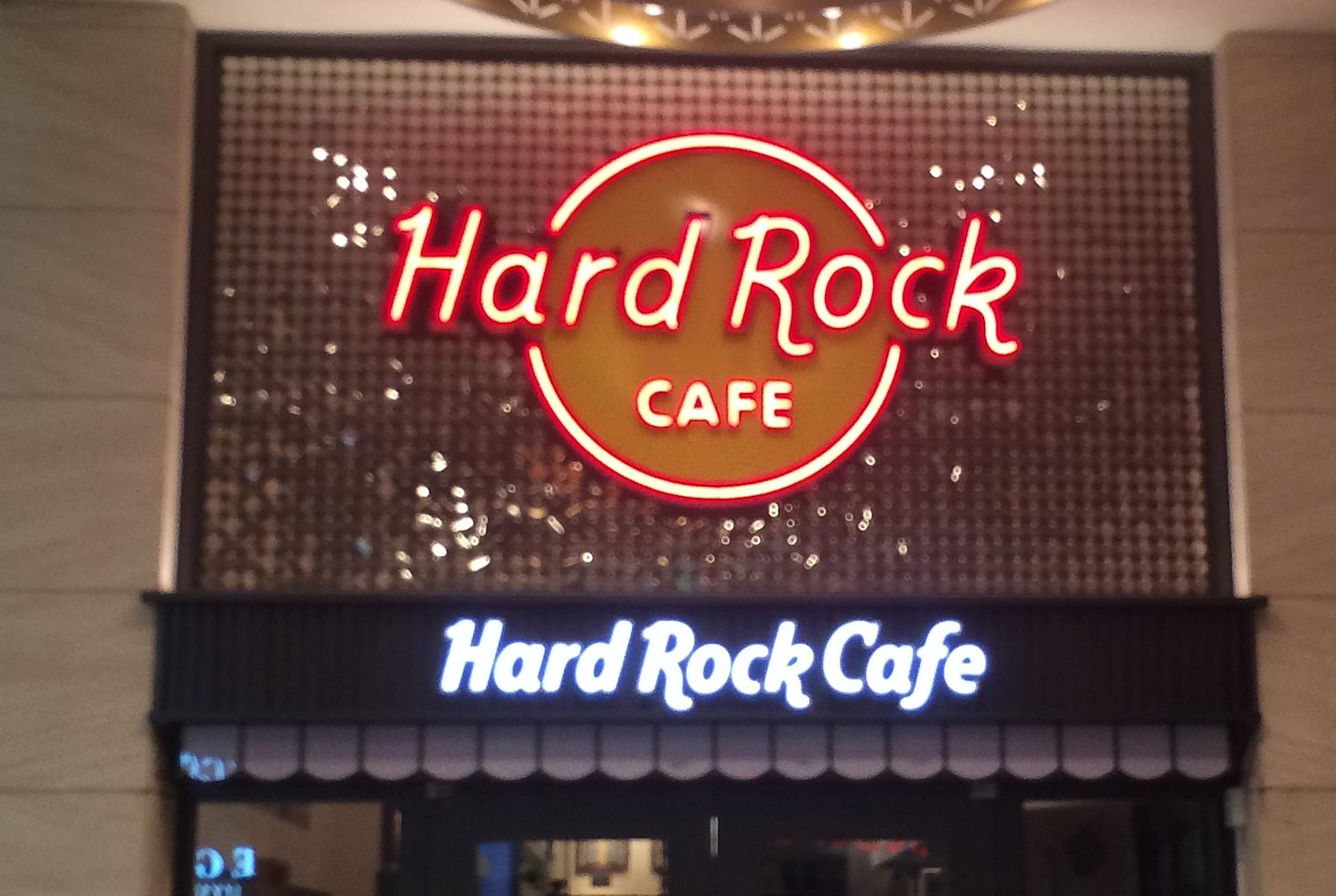 ハードロックカフェ上野