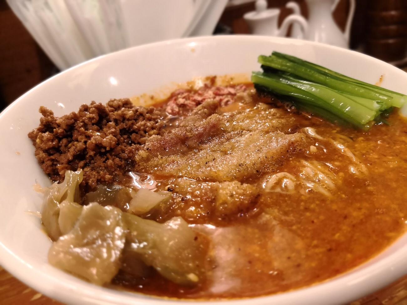 パーコー担々麺東京中野ほおずき