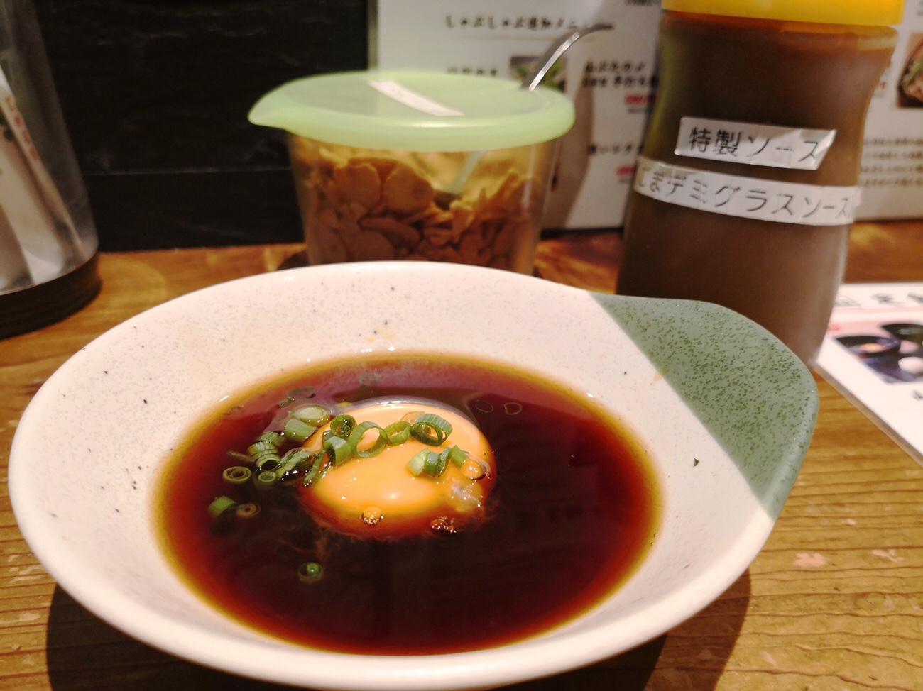 山ぶた ランチバラ焼き定食のタレ