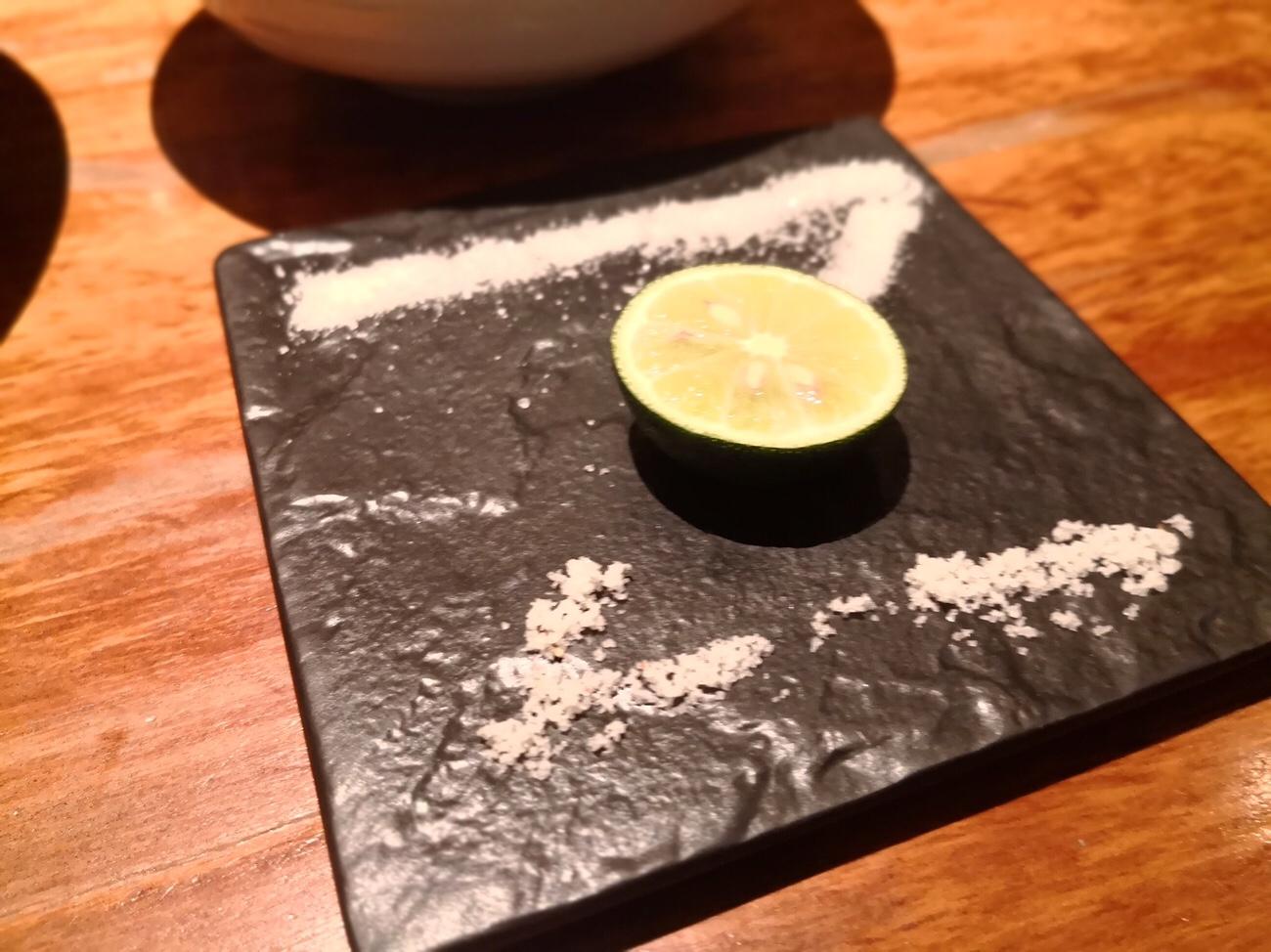 塩で食べられる本かつ喜のとんかつ大阪