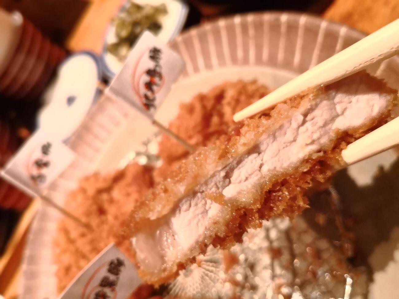 とんかつ食べ比べ本かつ喜 沖縄北斗島豚