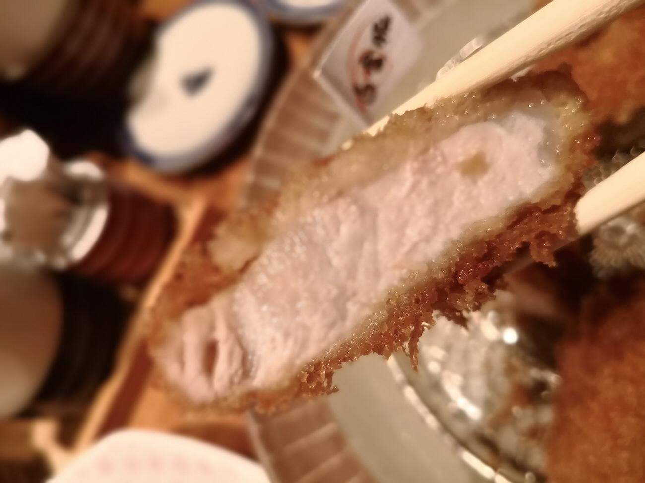 とんかつ食べ比べ 白金豚