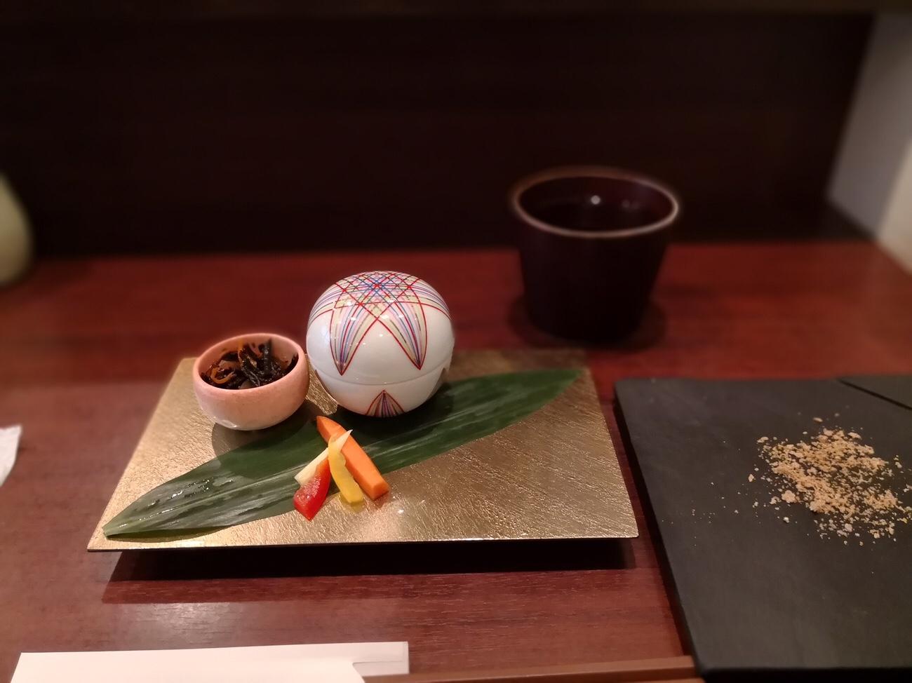 大阪エペ ランチとんかつの前菜