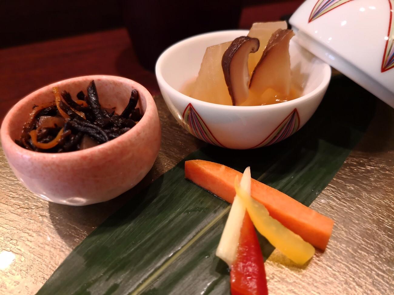 エペ北新地ランチ3種の前菜