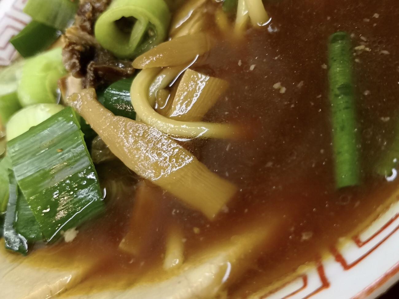 高井田ラーメンのスープ