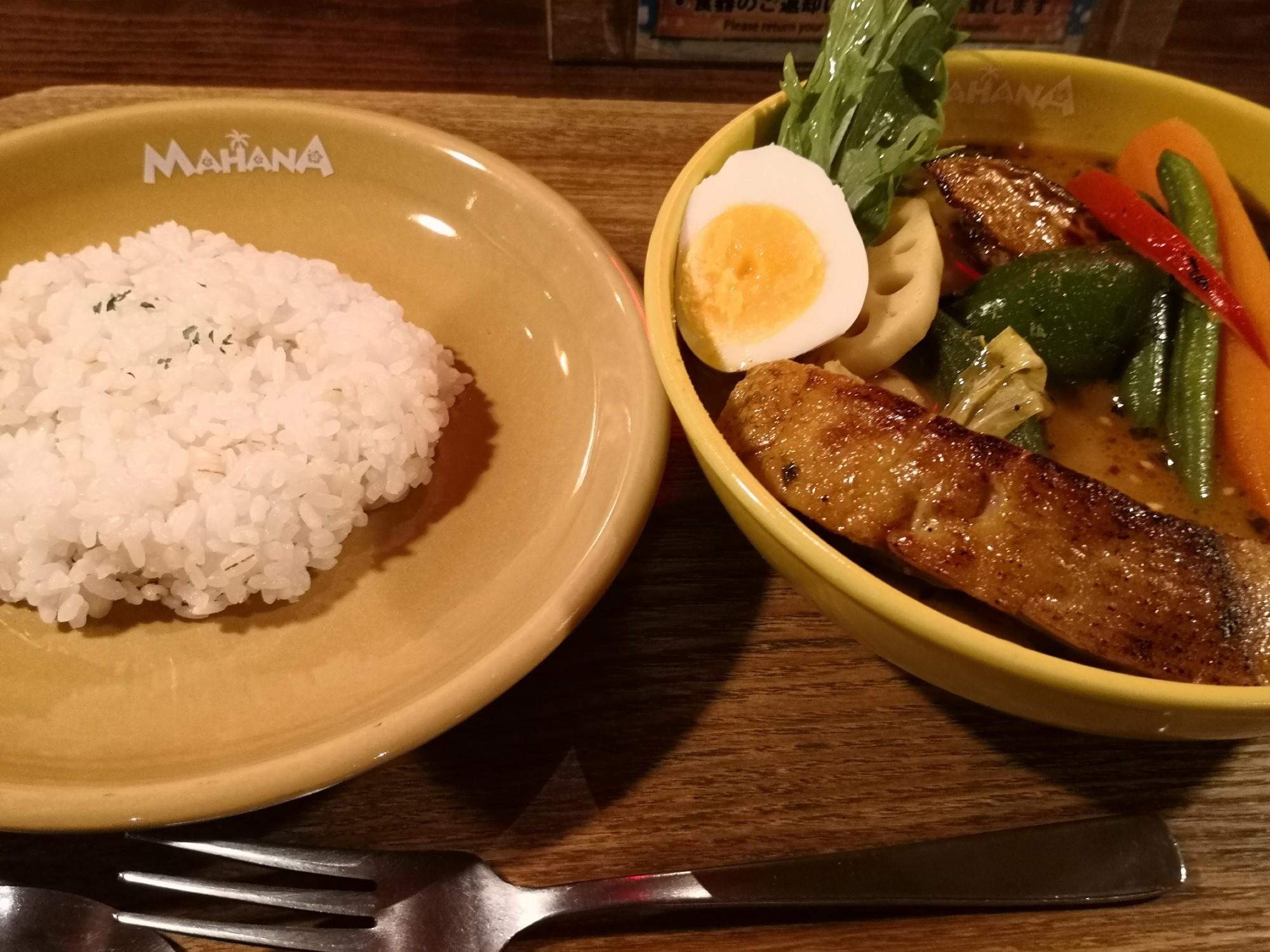 札幌駅近くスープカレー美味しい店マハナ