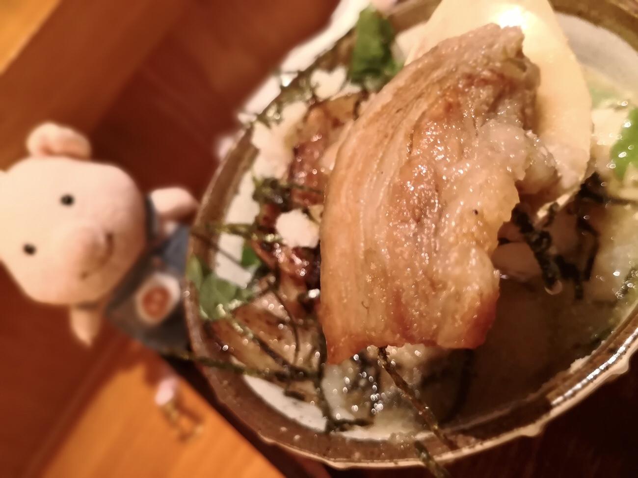 壌大手町ランチ豚丼最高に美味しい 豚茶 ランチメニュー