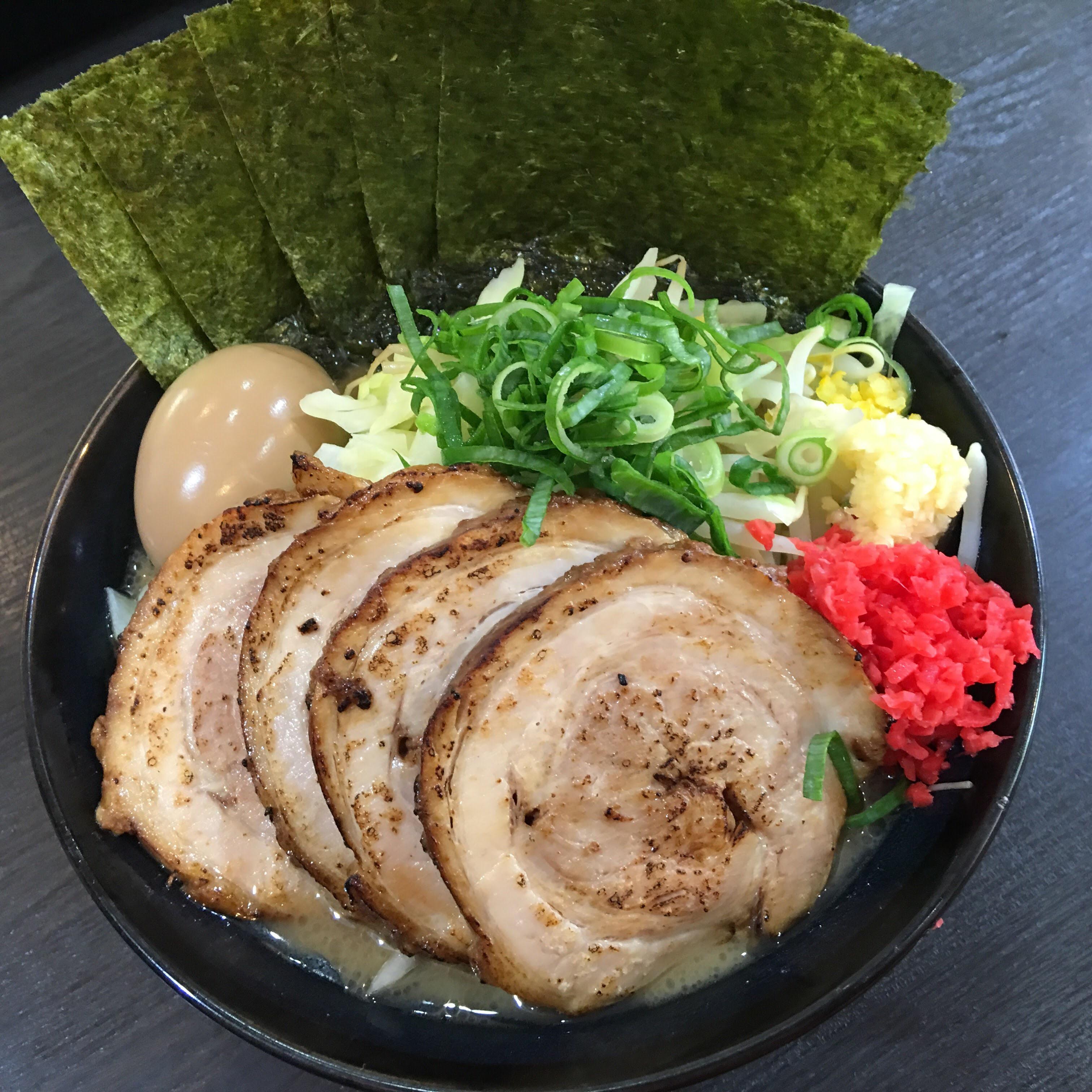 松壱家の豪麺