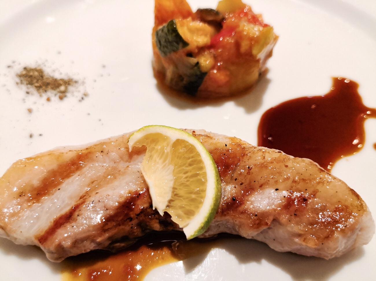 東京浅草豚料理専門店 グロワグロワのメインディッシュ