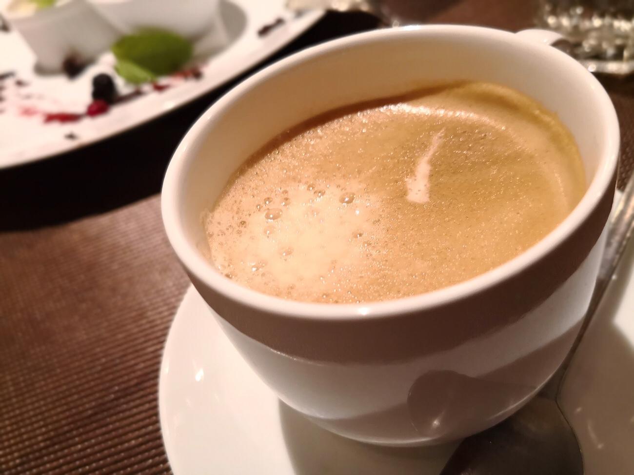 豚料理専門店グロワグロワ 東京浅草の食後のメニュー