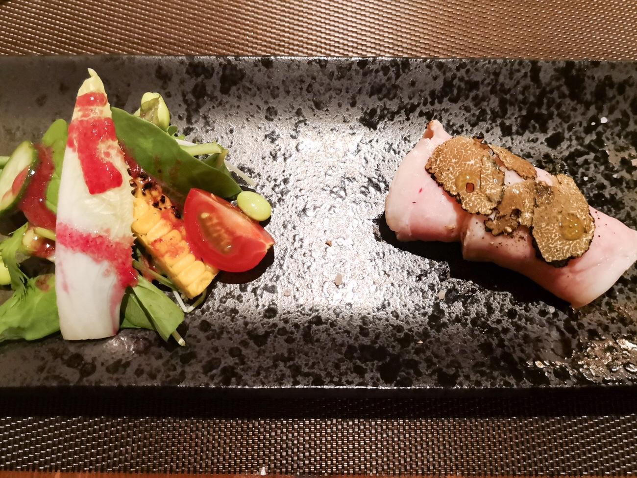 浅草の豚料理 グロワグロワ なきじんあぐー 今帰仁アグーを東京で食べられる店