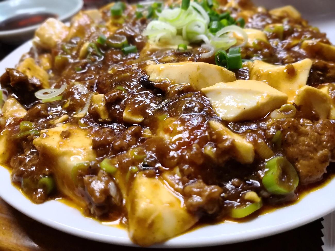 かし亀のカレー麻婆豆腐