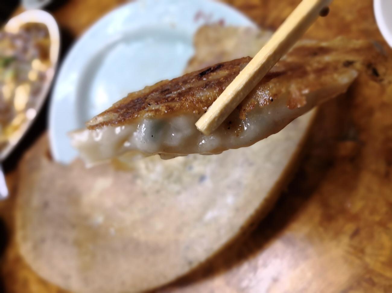 埼玉県加須市のかし亀羽付き餃子