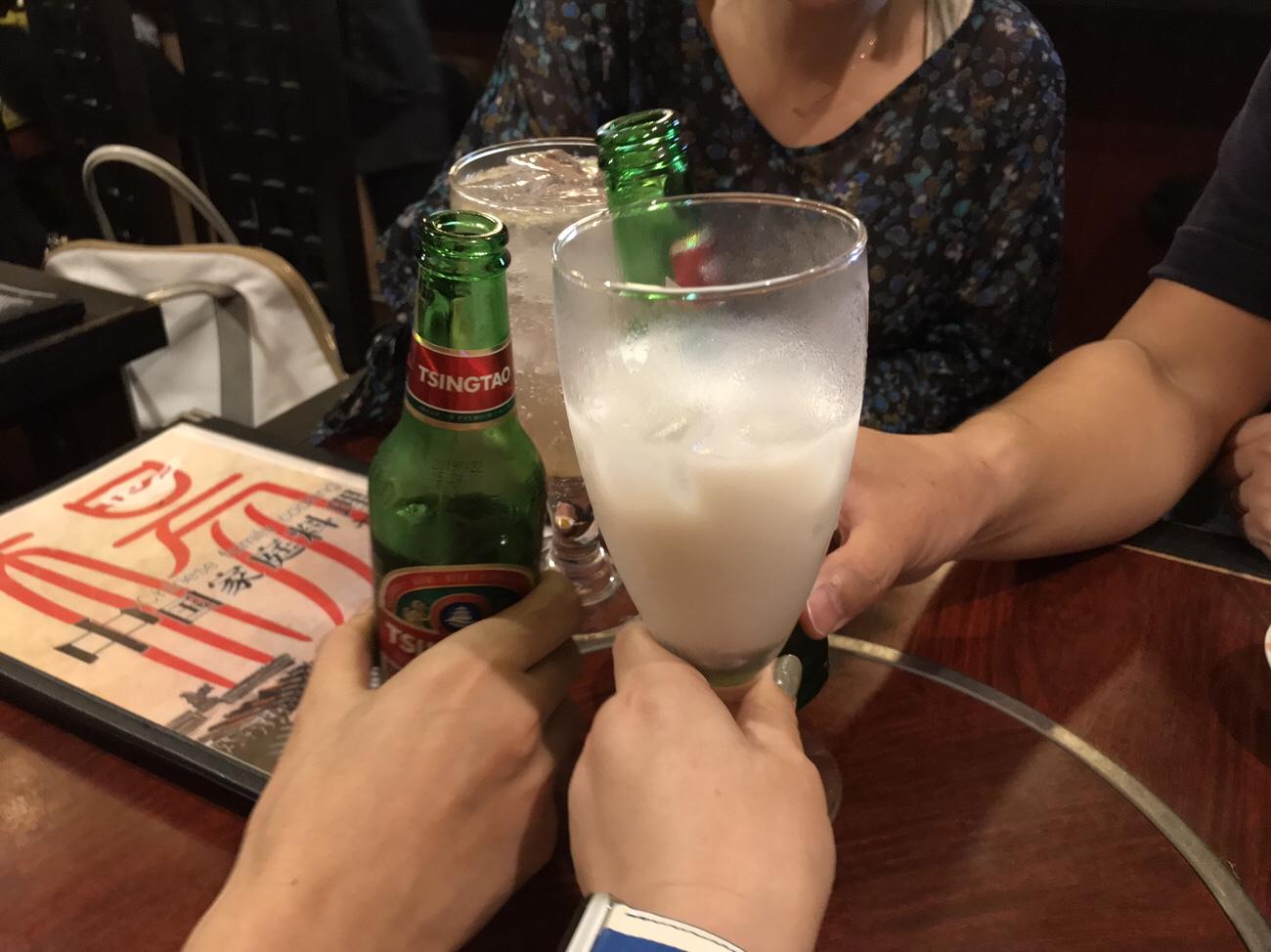 激辛グルメのスタートに乾杯!
