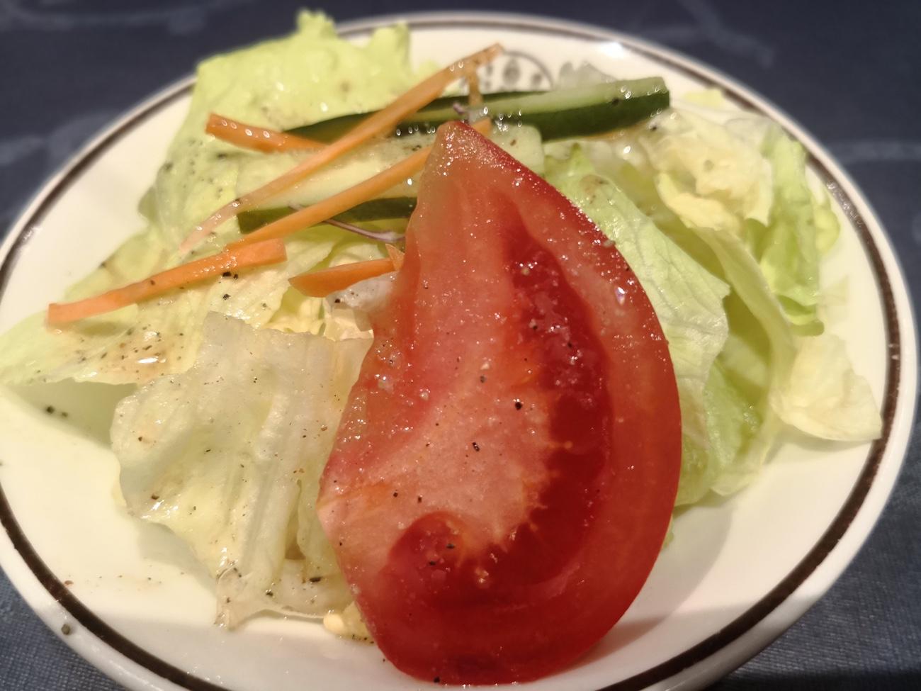 洋食キムラ新横浜 サラダ