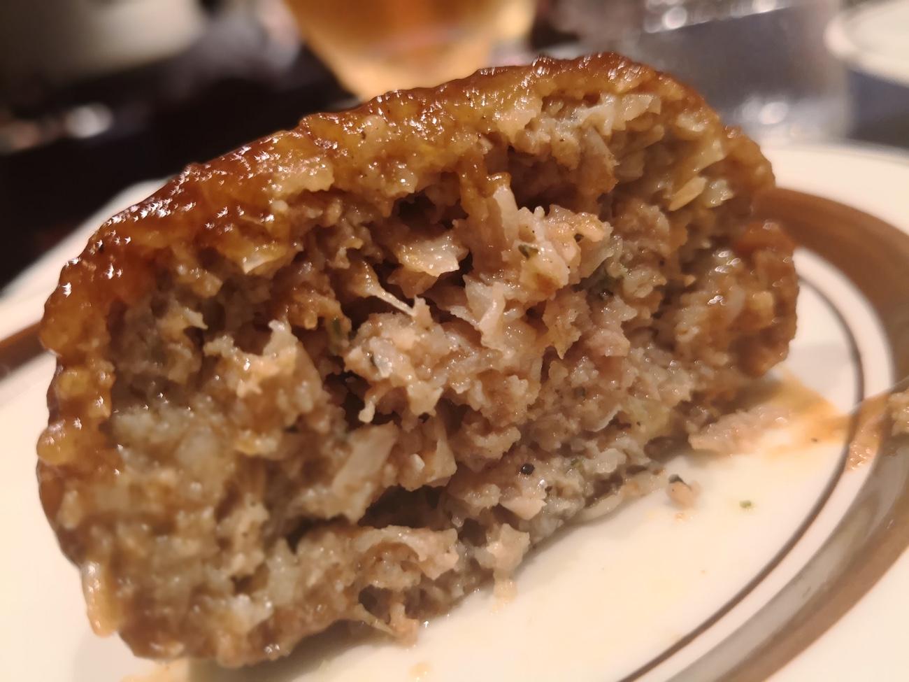 洋食キムラ新横浜 ハンバーグ