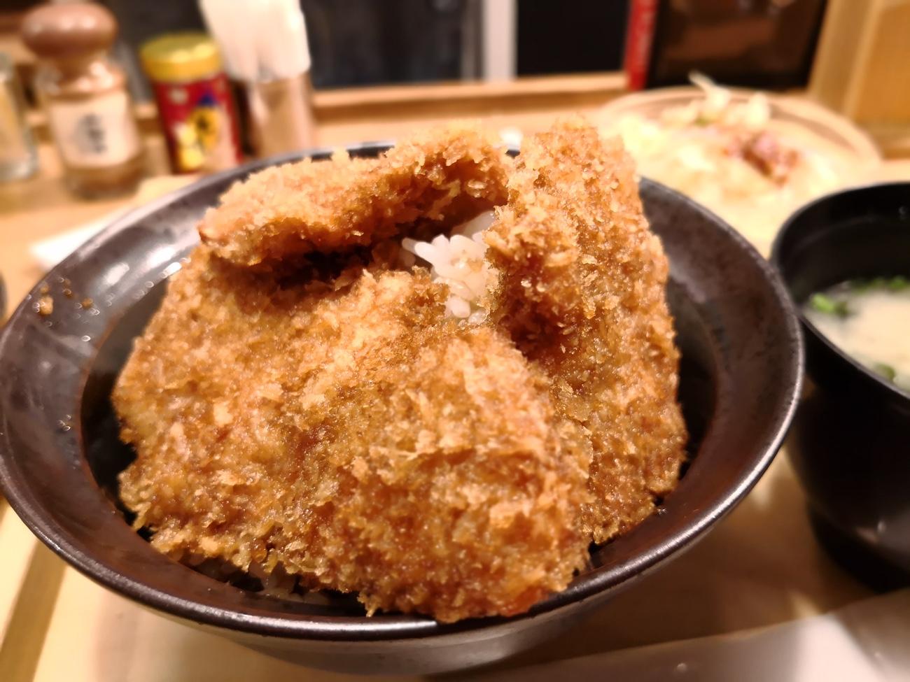 二段もりカツ丼 新潟カツ丼タレカツ