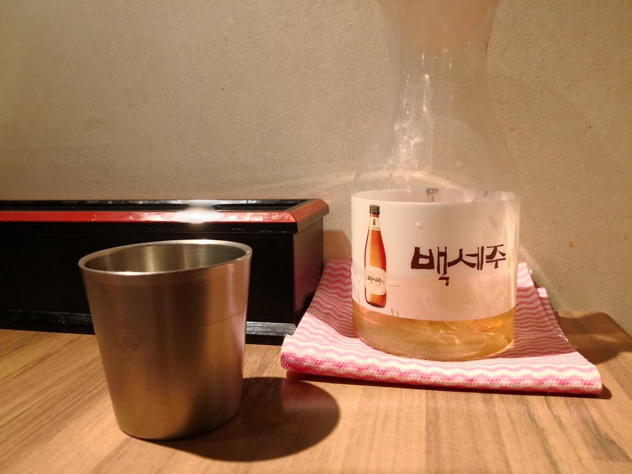 赤坂美豚ランチタイムのお茶
