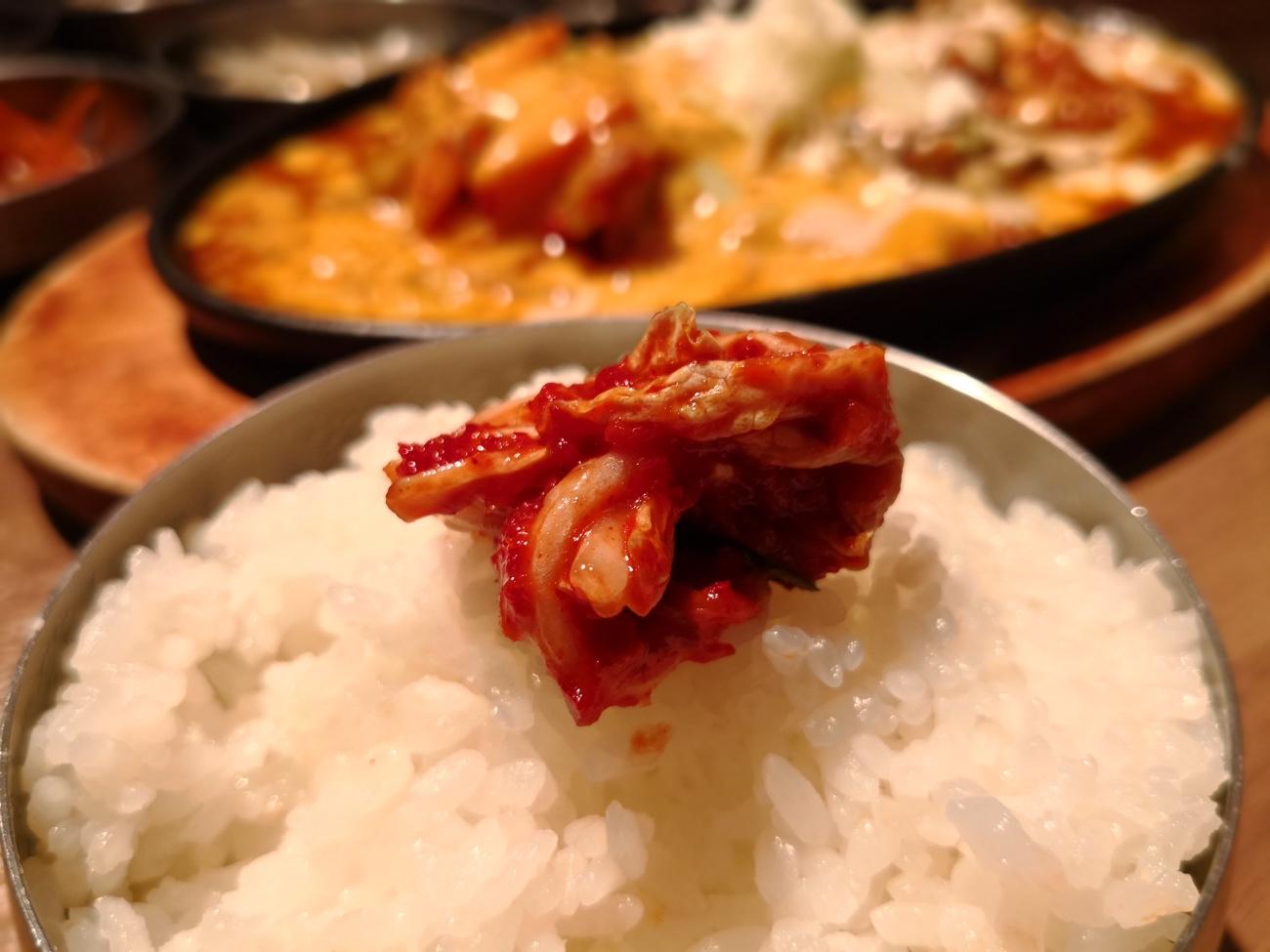 本格的韓国料理のランチ 赤坂美豚
