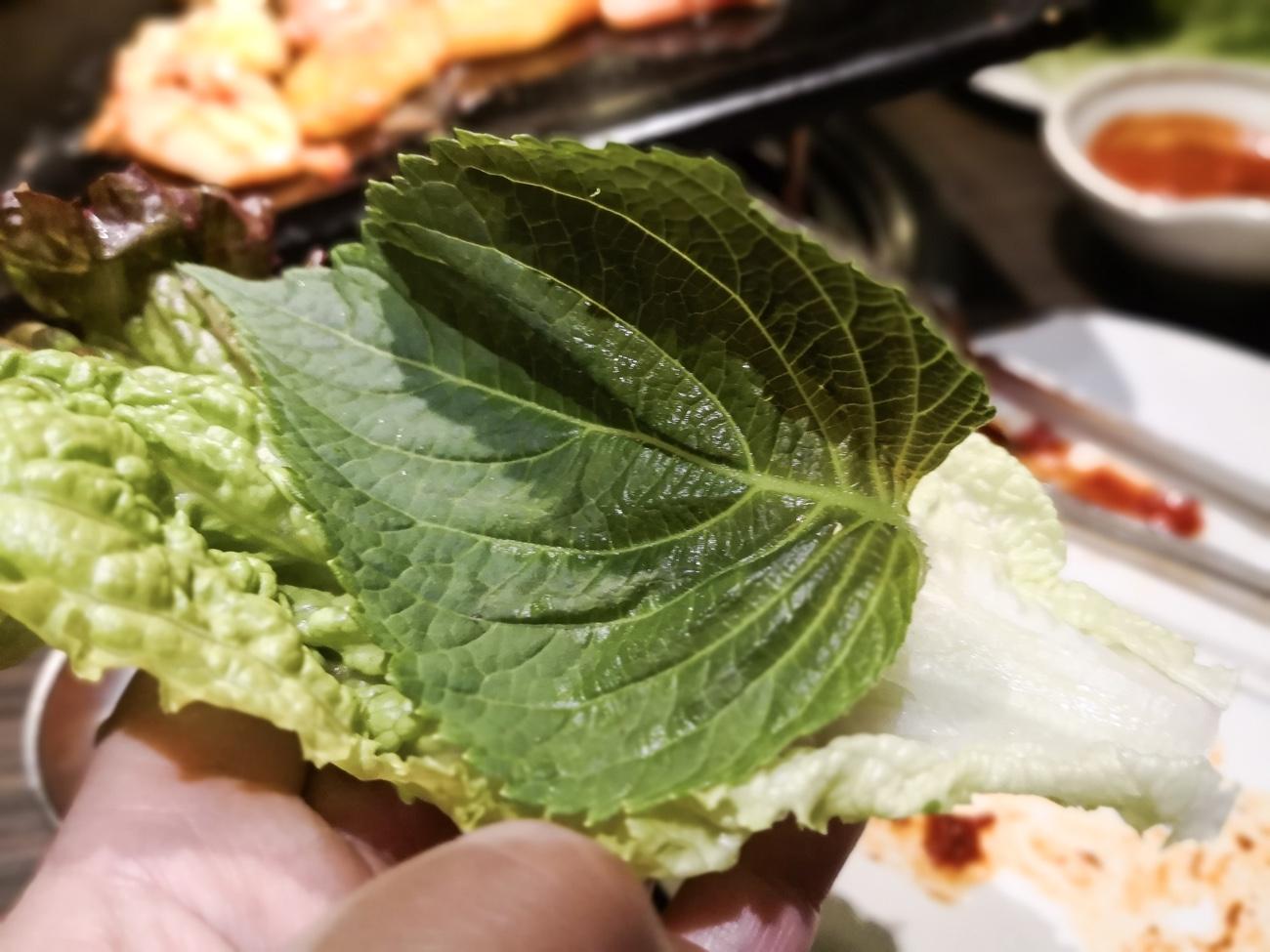 エゴマ食べ放題 バイキング プングムサムギョプサル