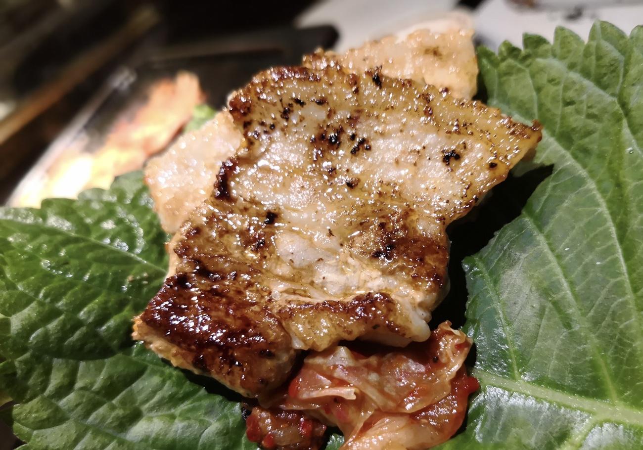 食べ放題のサムギョプサル プングム