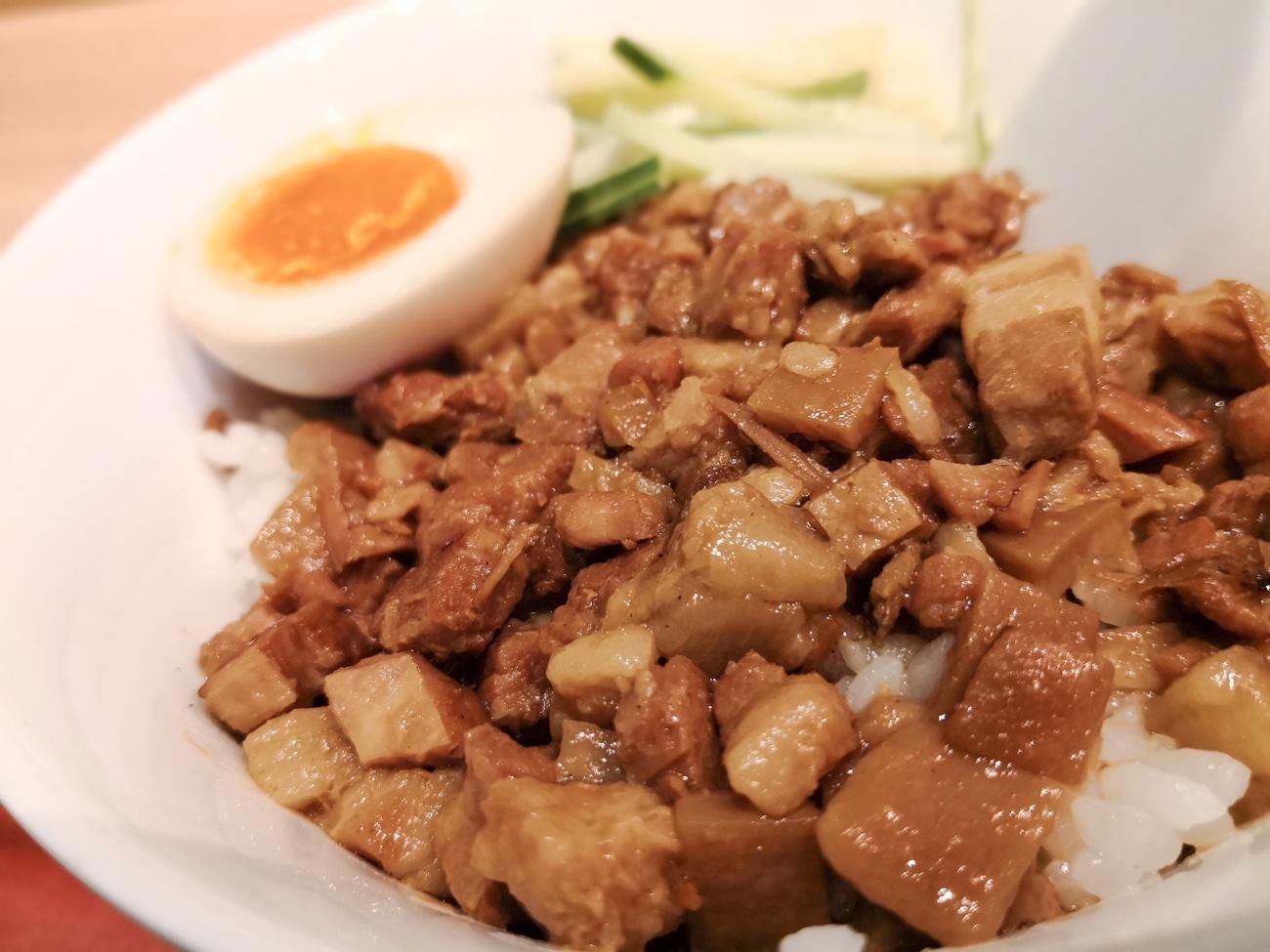 台湾まち神田のランチ ルーロー飯