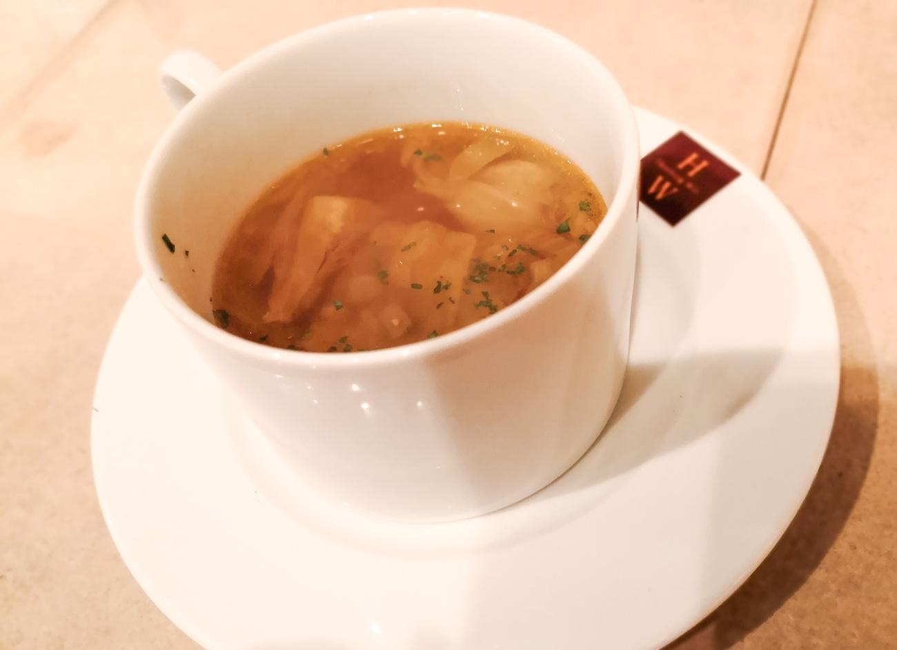 ハンバーグウィルランチのセットスープ