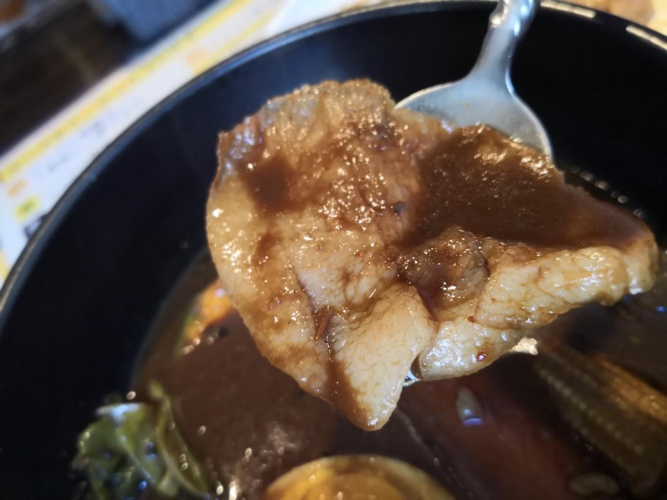 札幌スープカレードミニカおすすめのトントロ
