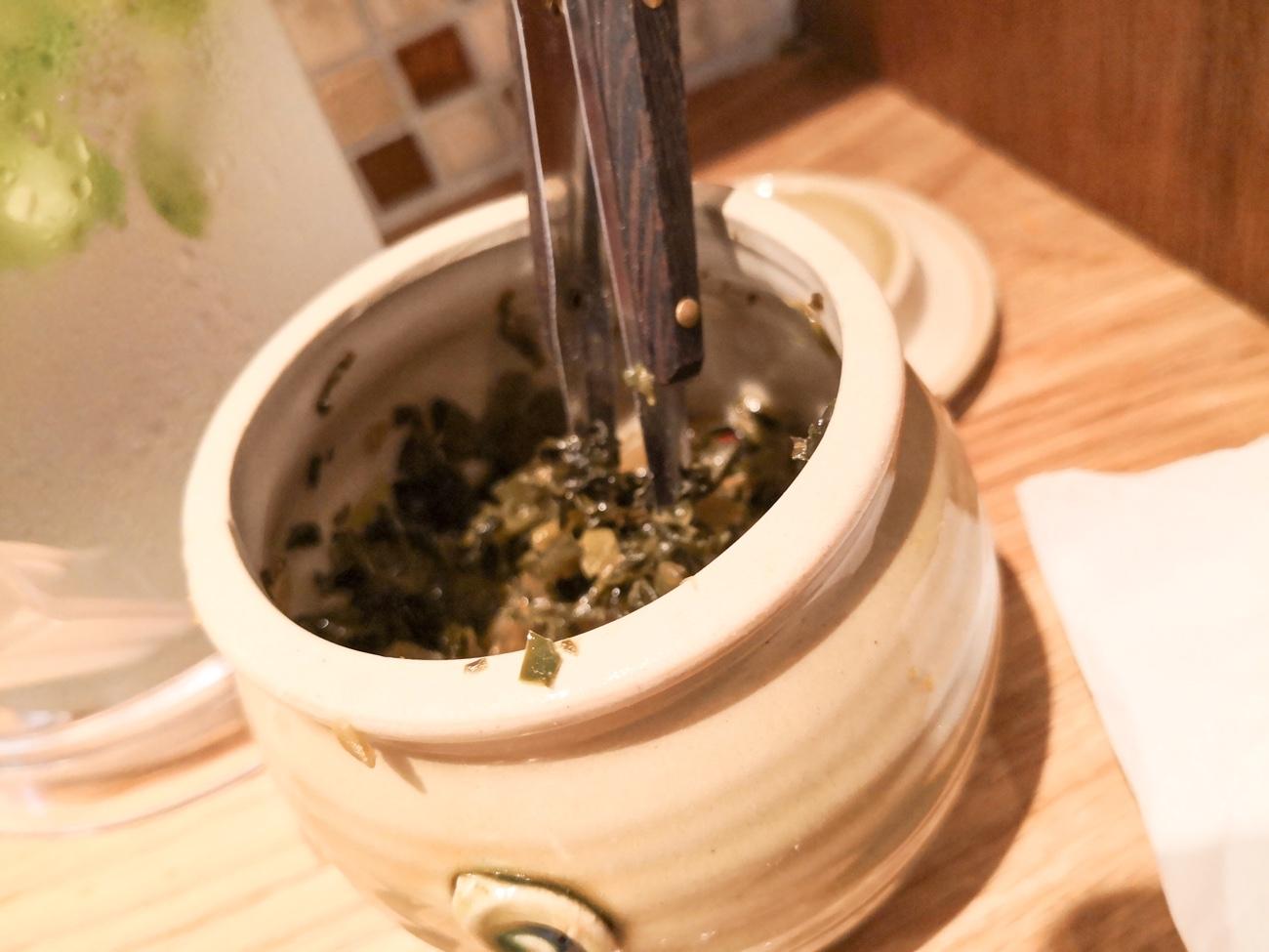 亜寿加にもあった高菜漬け れんげのごとく