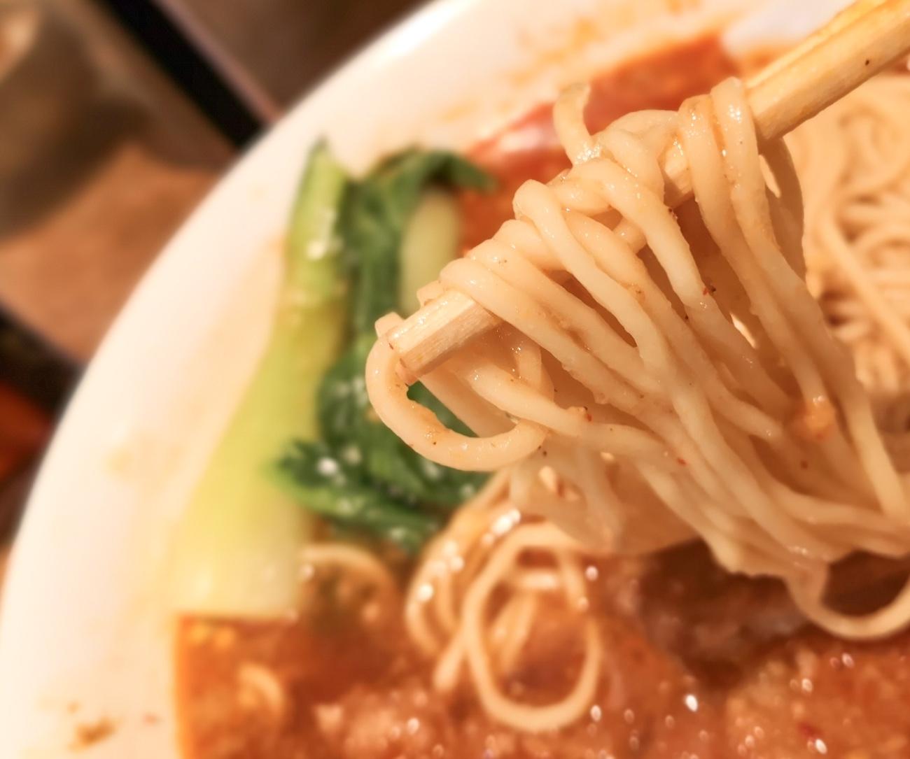 細ストレート麺 れんげのごとく渋谷