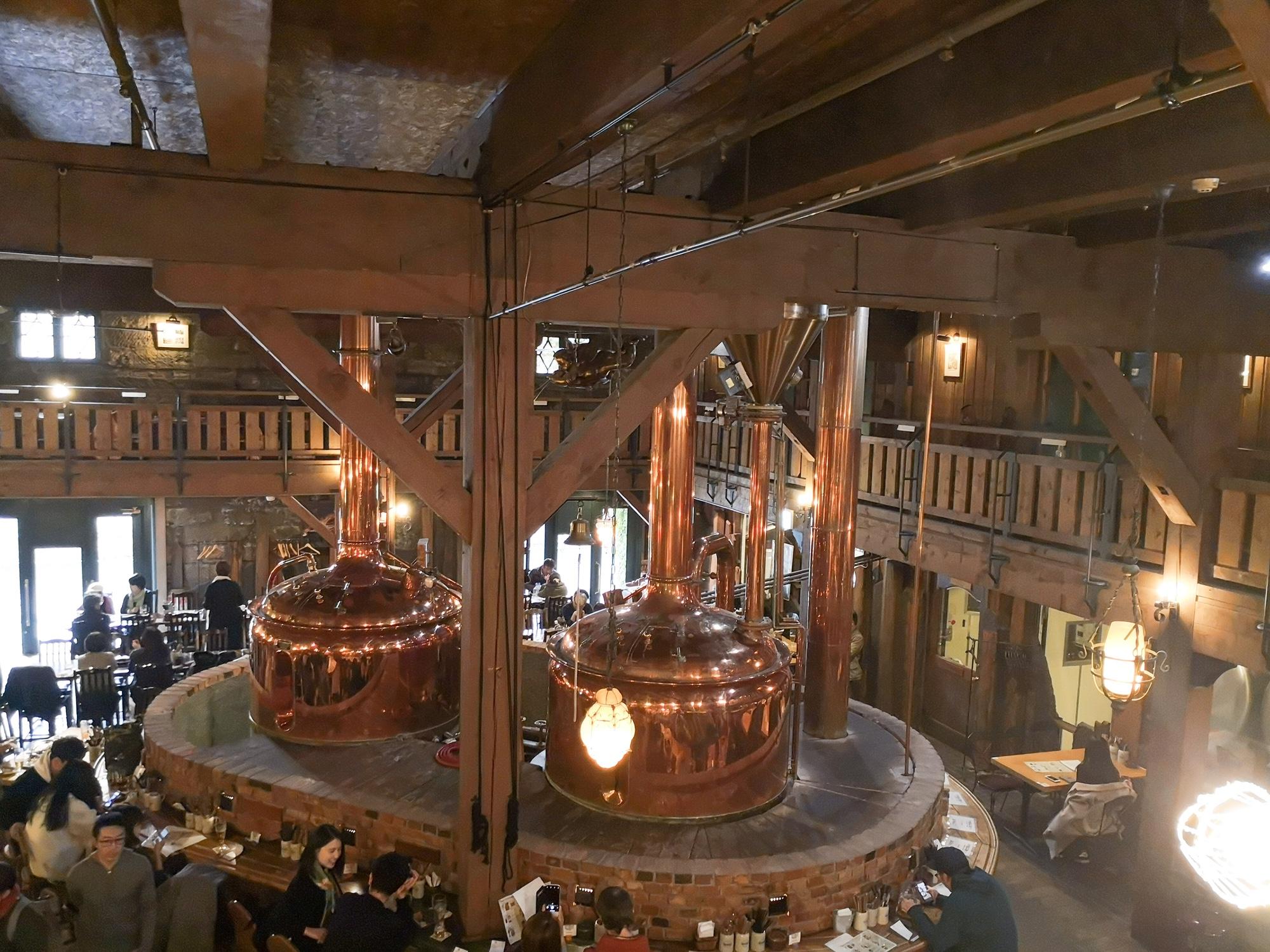 小樽ビール 倉庫 ビアホール