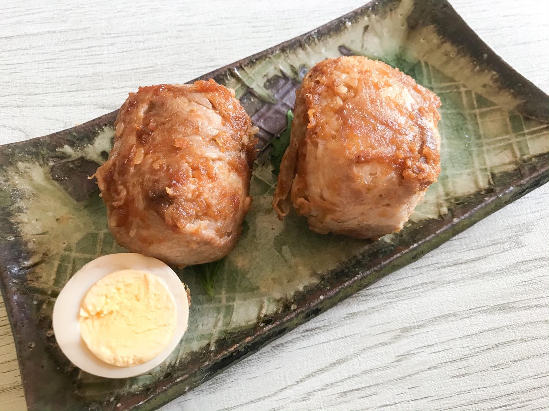 焼き上がり 豚組しゃぶ庵ホームセット テイクアウト アレンジレシピ・リメイクレシピ しゃぶしゃぶ肉のおにぎり おむすび