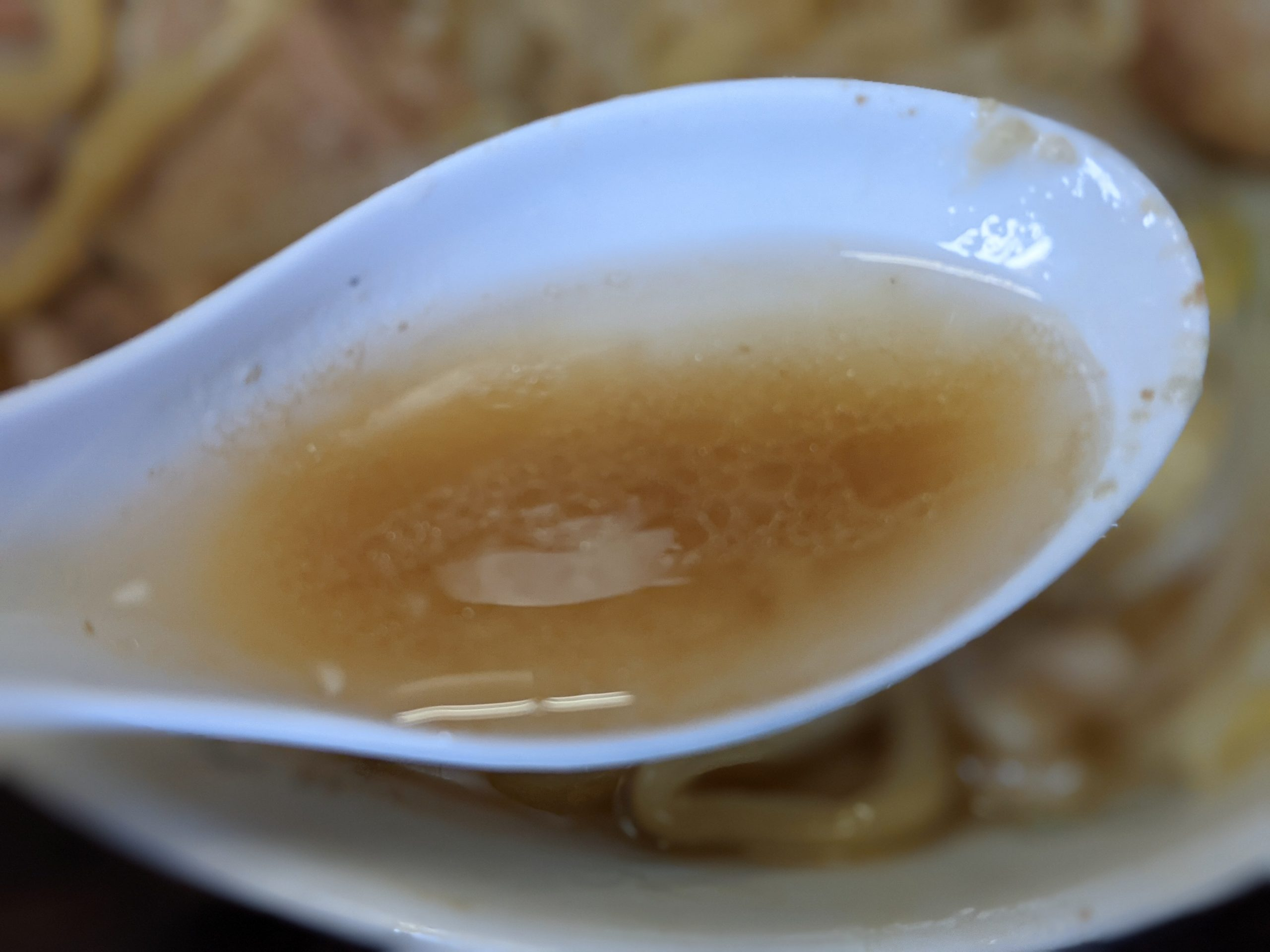 ラーメン虎丸のスープ